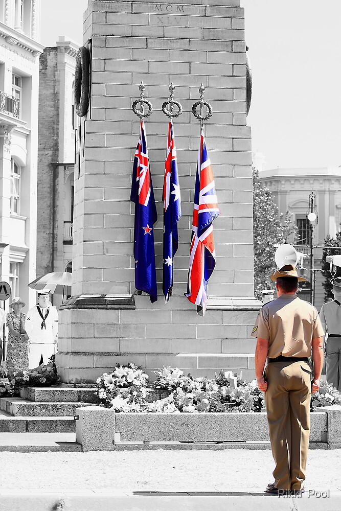 Lest We Forget - 2009 by Rikki  Pool