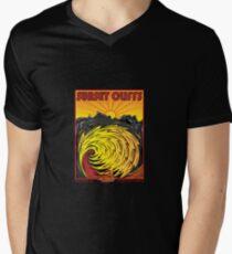 SUNSET CLIFFS Men's V-Neck T-Shirt