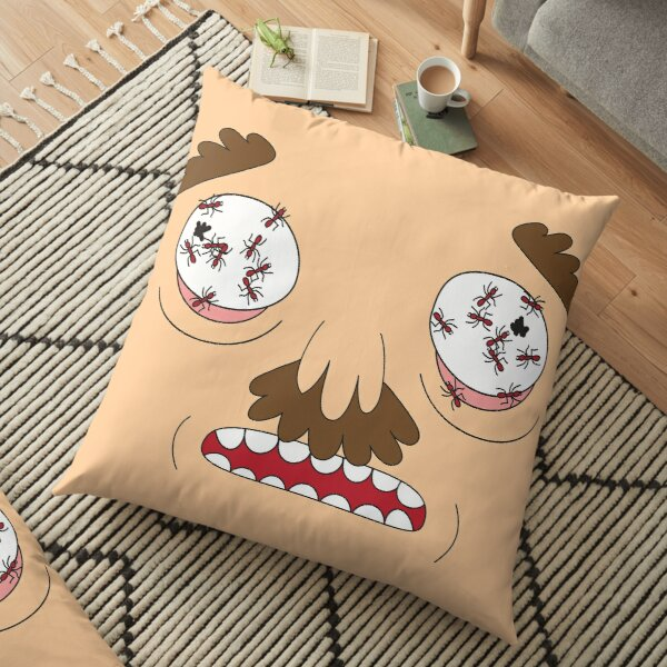 Ants In My Eyes Johnson (Rick and Morty) Floor Pillow