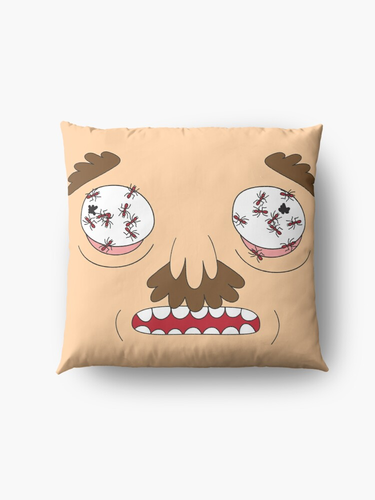 Alternate view of Ants In My Eyes Johnson (Rick and Morty) Floor Pillow