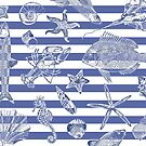 Sea things, shells, fish, shellfish by hidden-design
