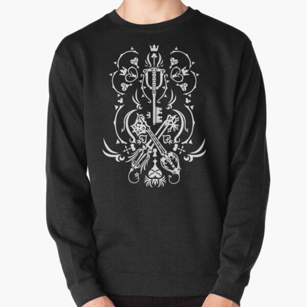 Kingdom Hearts - Black Sweatshirt épais