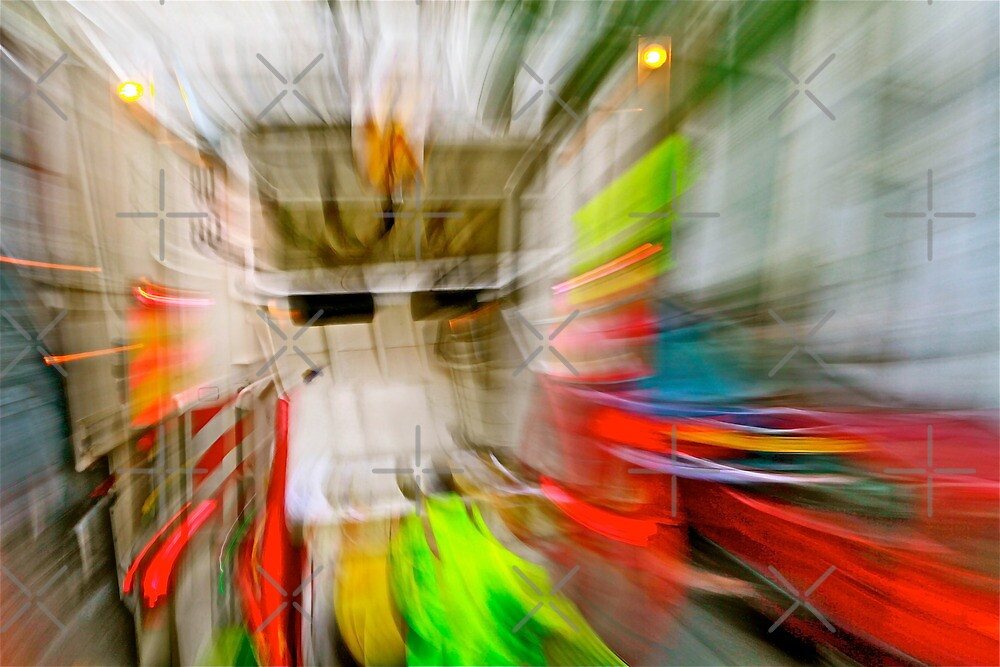 Inside my head when the garbage truck makes noise pollution by Danica Radman