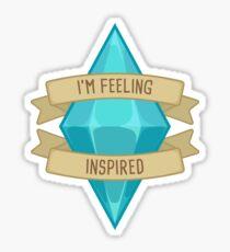 I'm Feeling Inspired Plumbob Sticker