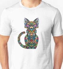 Camiseta unisex Arte abstracto gato