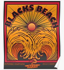 BLACKS BEACH Poster