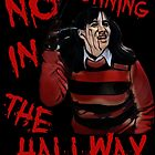 No running in the Hallway by American  Artist