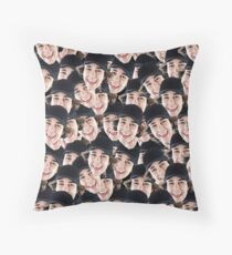 David Dobrik Wrap Throw Pillow