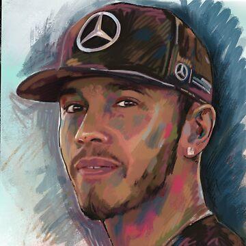 Lewis Hamilton - Formula 1 Champion by ArsenalArtz