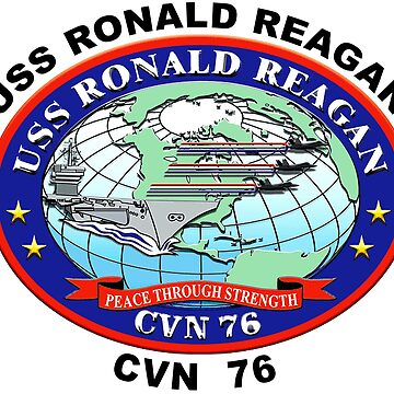 USS Ronald Reagan (CVN-76) Crest by Spacestuffplus