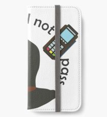 Gandalf you shall not pass iPhone Wallet/Case/Skin