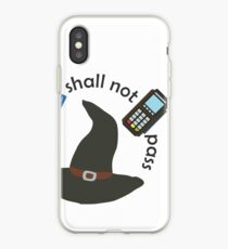 Gandalf you shall not pass iPhone Case