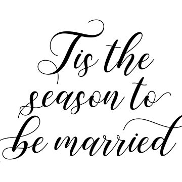 Winter Wedding - Tis the season to be married by lovelifeletter