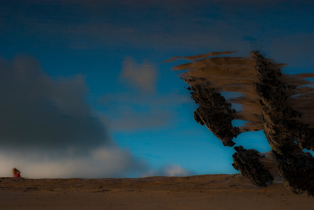 Surreal Beach 2 by Michelle Walsh