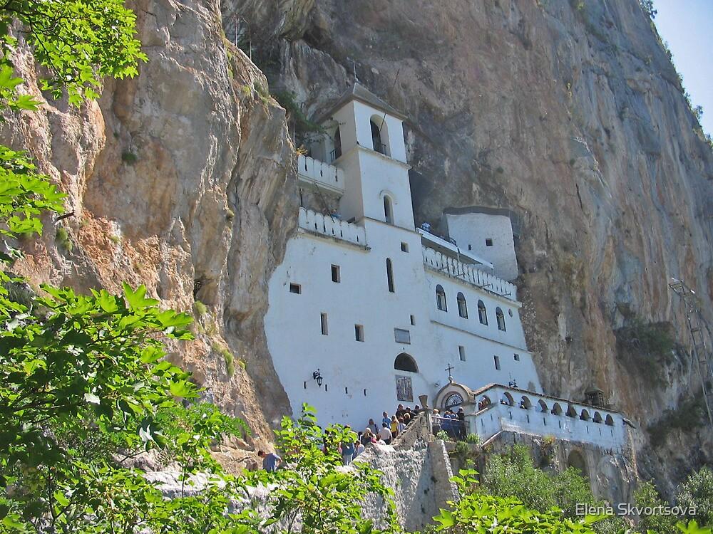 Ostrog monastery by Elena Skvortsova