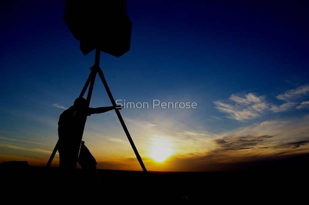 the lookout by Simon Penrose