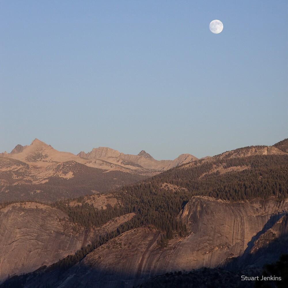 Yosemite Moonrise by Stuart Jenkins