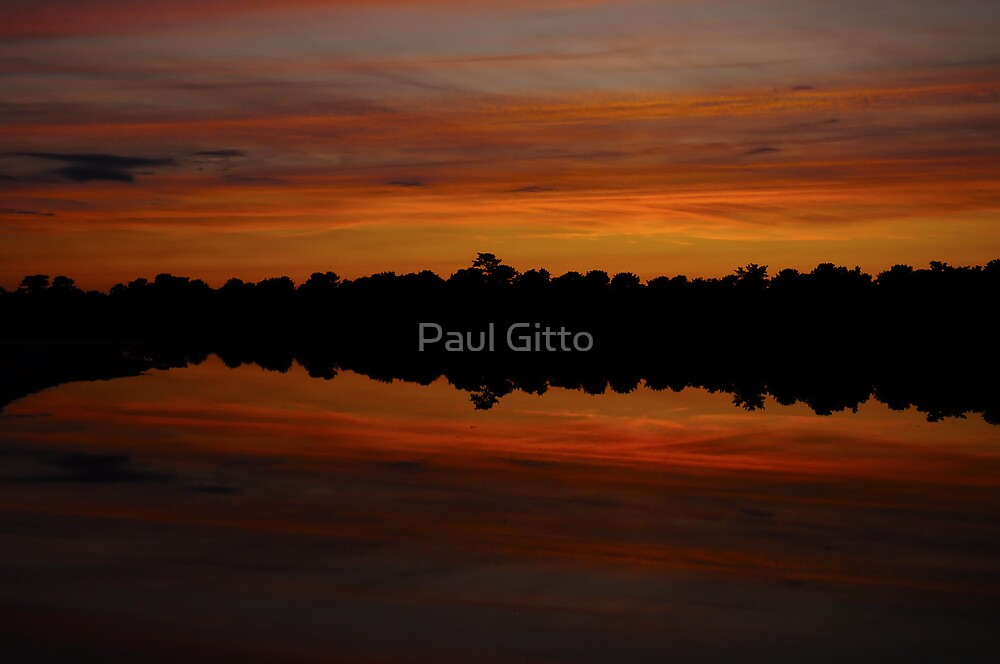 Red Dusk by Paul Gitto