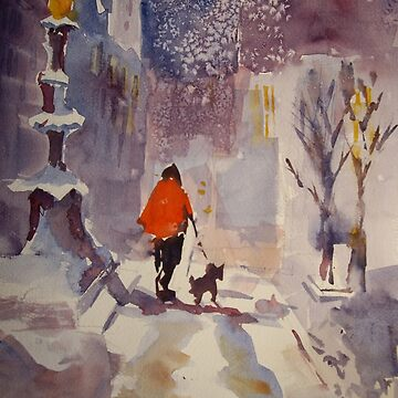 Walking The Dog - Art Gallery 4 by ballet-dance
