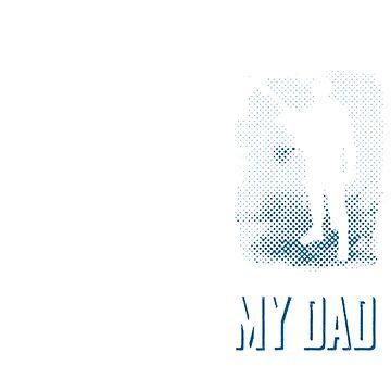 Your Dad My Dad Women Men T-Shirt Design Idea by q4success