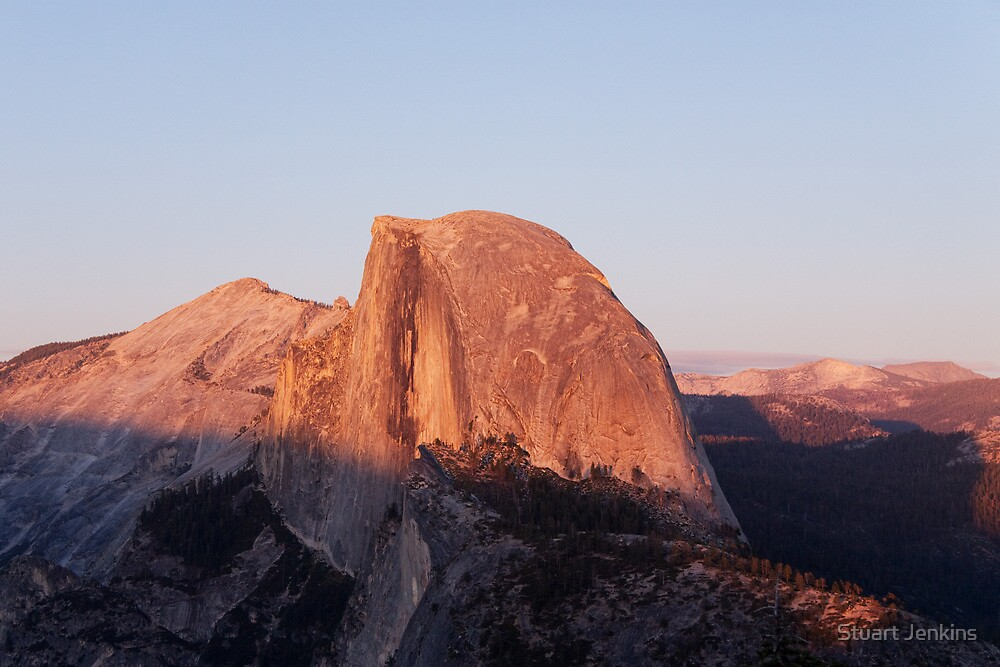 Half Dome Sunset by Stuart Jenkins