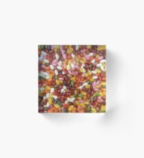 Jelly Bean World Acrylic Block