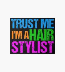 Hair Stylist Art Boards Redbubble