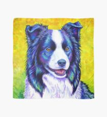 Colorful Border Collie Dog Scarf