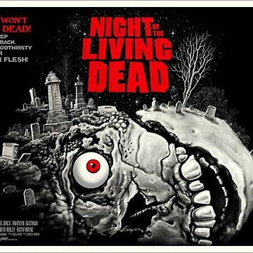 Night of the Living Dead in Red by rcmarble
