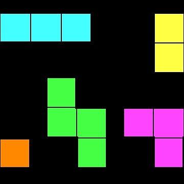Tetris - Video games  by joshuanaaa