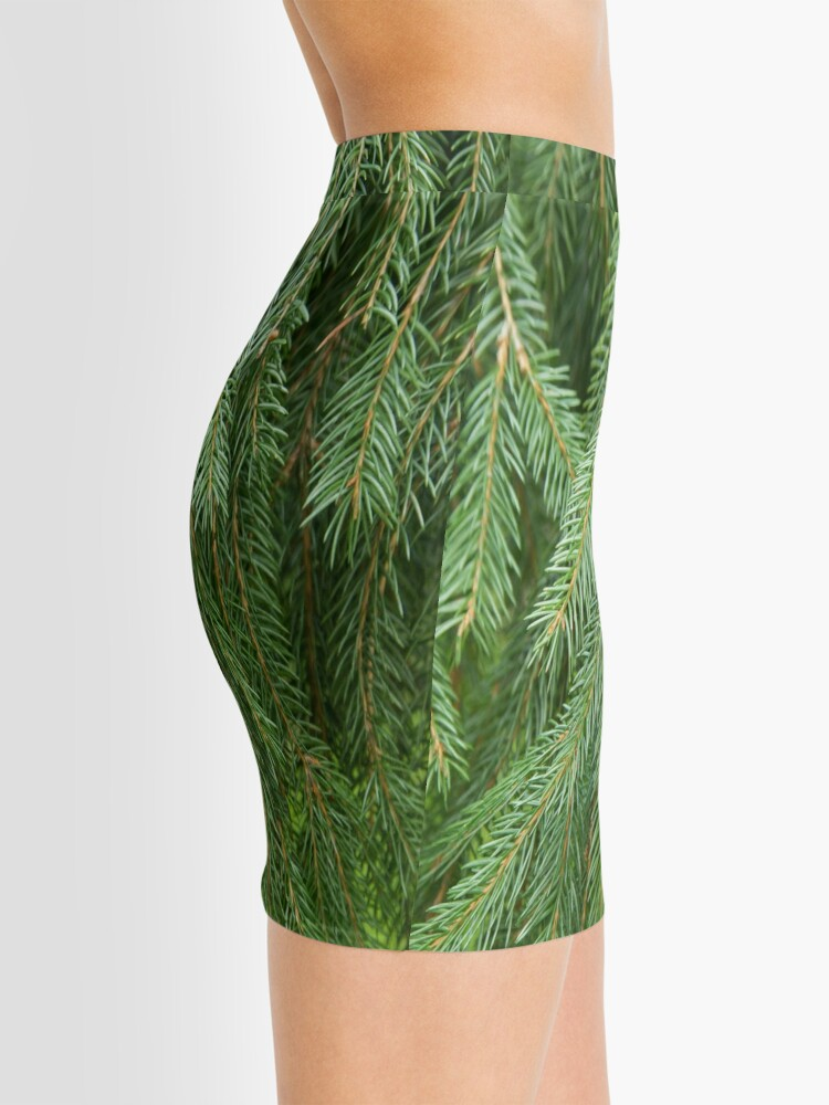 Alternate view of Pine Tree Closeup Mini Skirt