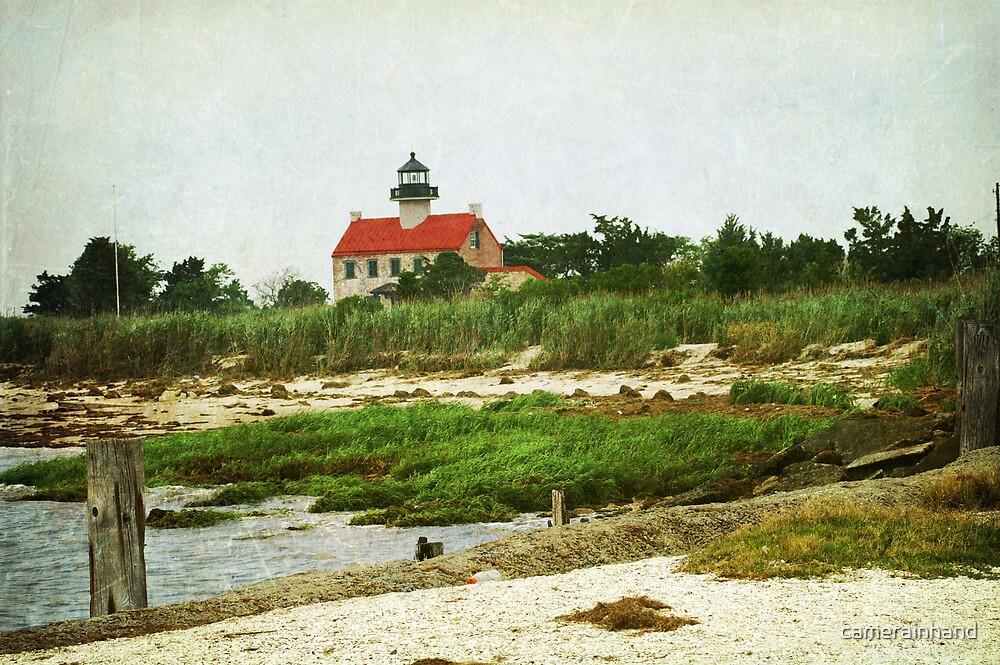 Lighthouse at Dusk by camerainhand