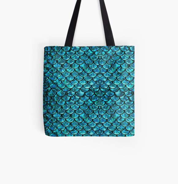 Mermaid Scales  All Over Print Tote Bag