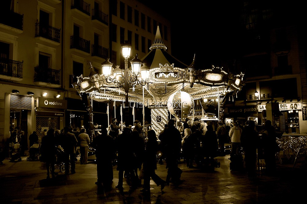 The Carousel by Luis Lacorte