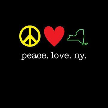 Peace. Love. NY. by kirei