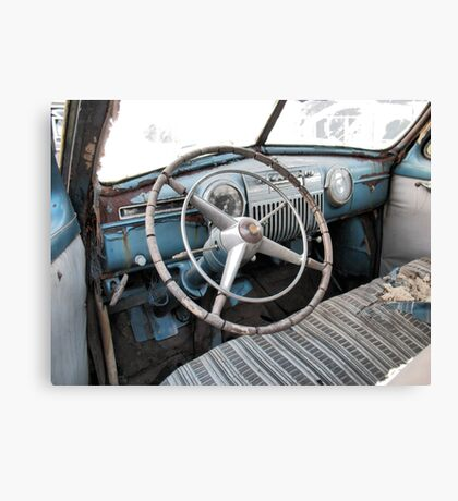 """""""1942 Cadillac Series 61 Coup - Sneak Peek""""... prints and products Canvas Print"""