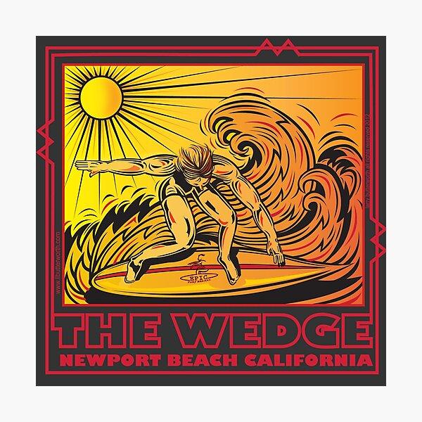 THE WEDGE NEWPORT BEACH CALIFORNIA Photographic Print