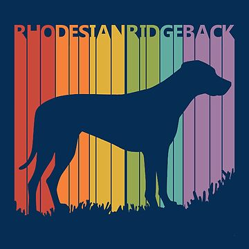 Funny Vintage Retro Rhodesian Ridgeback by polveri