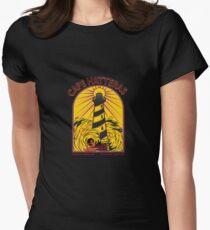 CAPE HATTERAS NORTH CAROLINA SURFING Women's Fitted T-Shirt