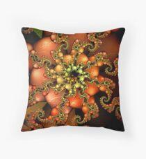 Herbsttanz Throw Pillow