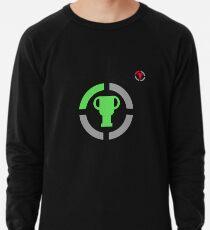 Spieltheorie-offizielles Logo und paralleles Konzept - Spieler-Geschenk-Idee Leichter Pullover