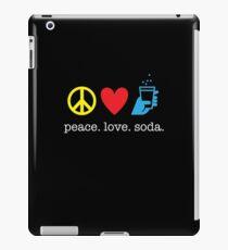 Peace Love Soda iPad Case/Skin