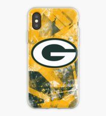 GREEN BAY PACKERS PRINTS BY SATORU KON ART iPhone Case
