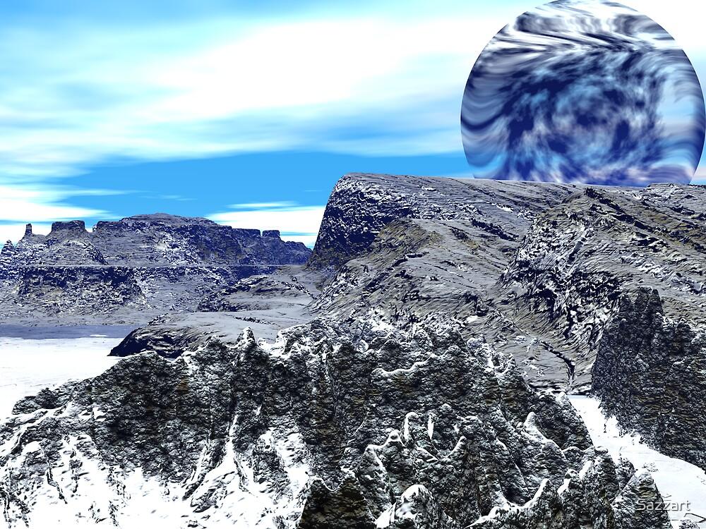 Issues - Antartica Meltdown by Sazzart