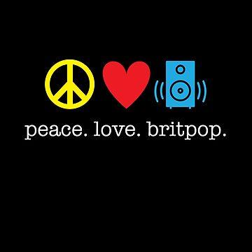 Peace Love Britpop by kirei