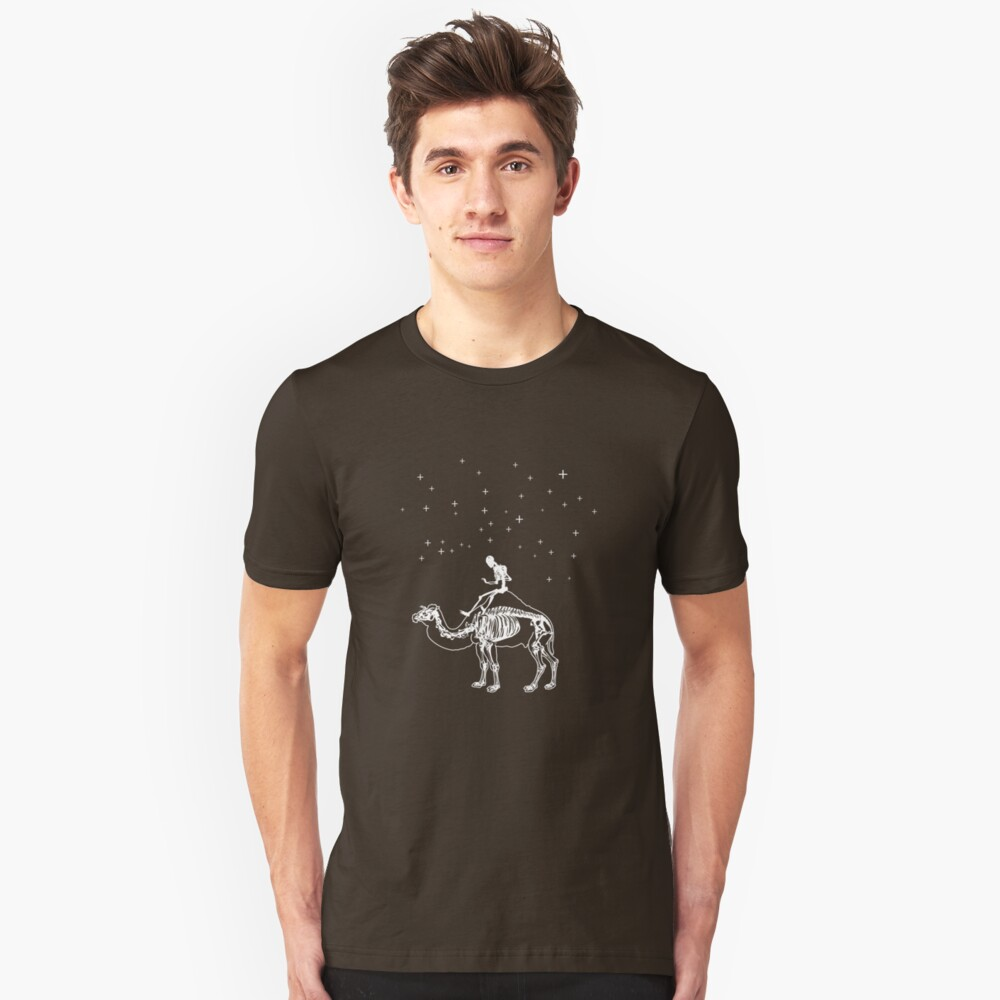 A cold ride Unisex T-Shirt Front