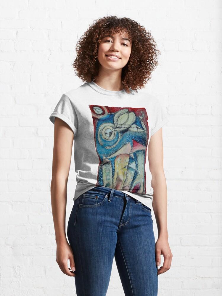 Alternate view of El soplo del Ángel Classic T-Shirt