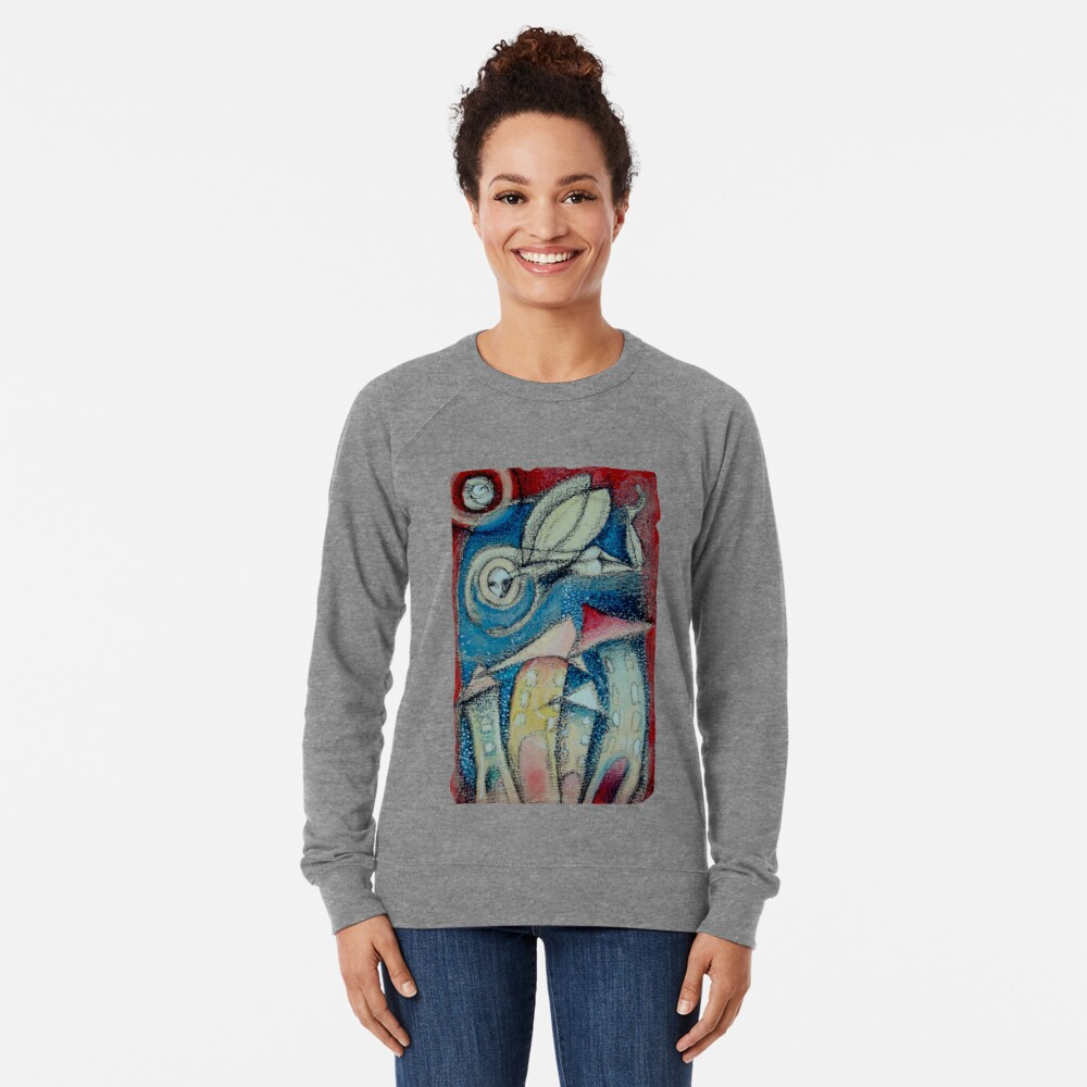 El soplo del Ángel Lightweight Sweatshirt
