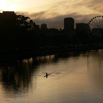 Melbourne sunrise by PhotosByG