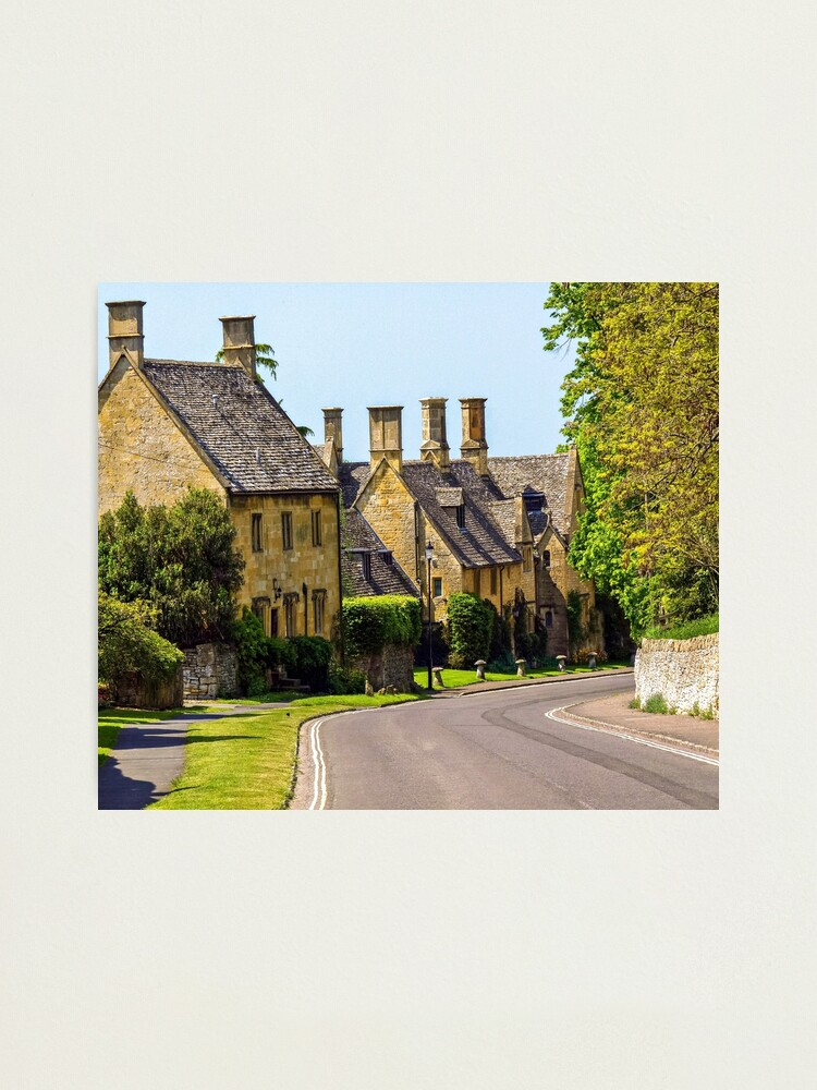 Alternate view of Quaint streets of England Photographic Print